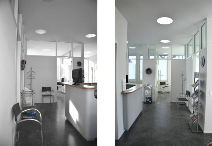 innenausbau physiotherapiepraxis m nnedorf nievergelt architekt. Black Bedroom Furniture Sets. Home Design Ideas